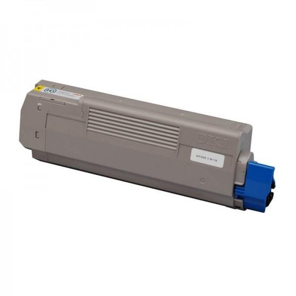 Oki C610 Yellow Toner 44315305 Compatible