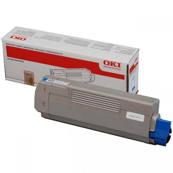 Toner Oki C610 Blue 44315307 Original