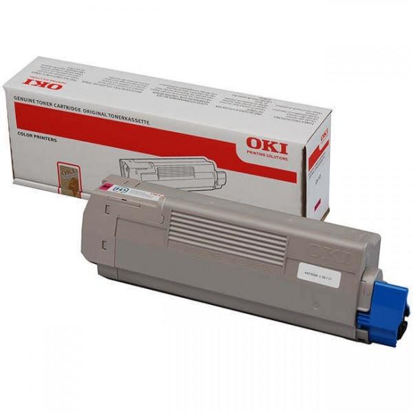 Oki C610 Magenta Toner 44315306 Original