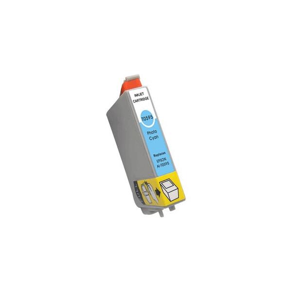 Ink Cartridge Epson T0595 Light Blue C13T05954010 Compatible