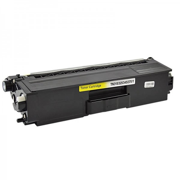 Brother TN325 Yellow Compatible Toner