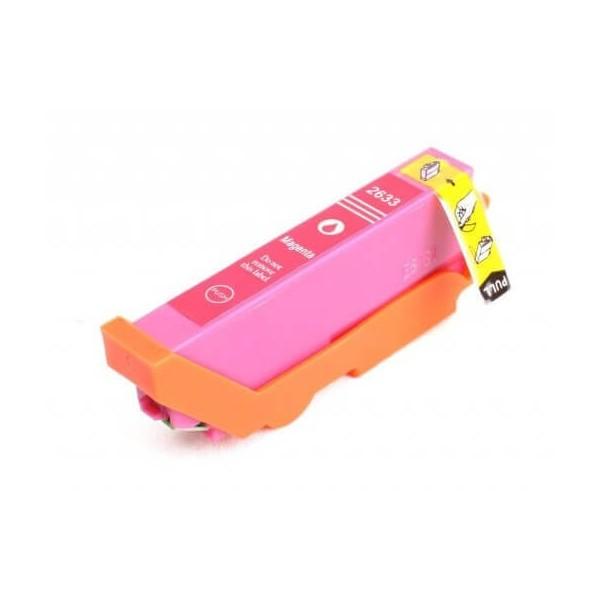 Epson T2633 Magenta Ink Cartridge C13T26334010 Compatible