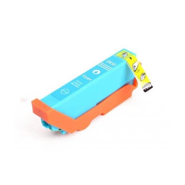 Ink Cartridge Epson T2632 Blue C13T26324010 Compatible