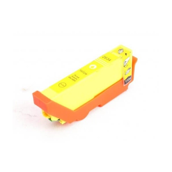 Epson T2634 Yellow Ink Cartridge C13T26344010 Compatible
