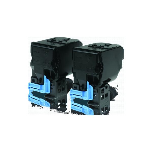 Compatible Toner Epson CX37 Black S050594 PACK 2 Units