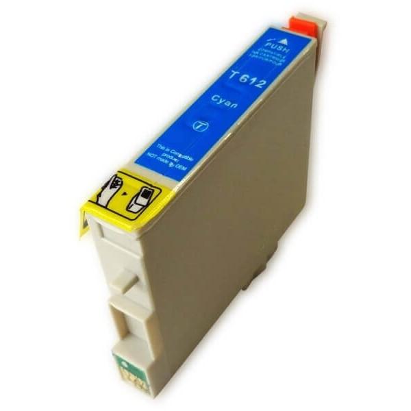 Ink Cartridge Epson T0612 Blue C13T06124010 Compatible