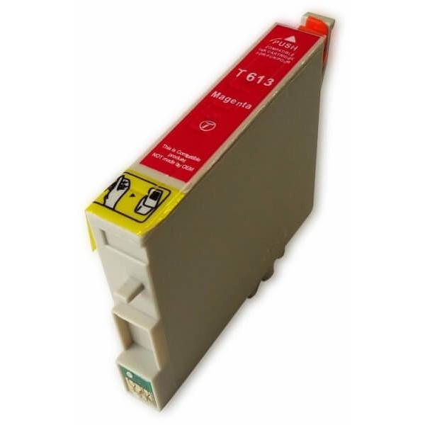 Ink Cartridge Epson T0613 Magenta C13T06134010 Compatible