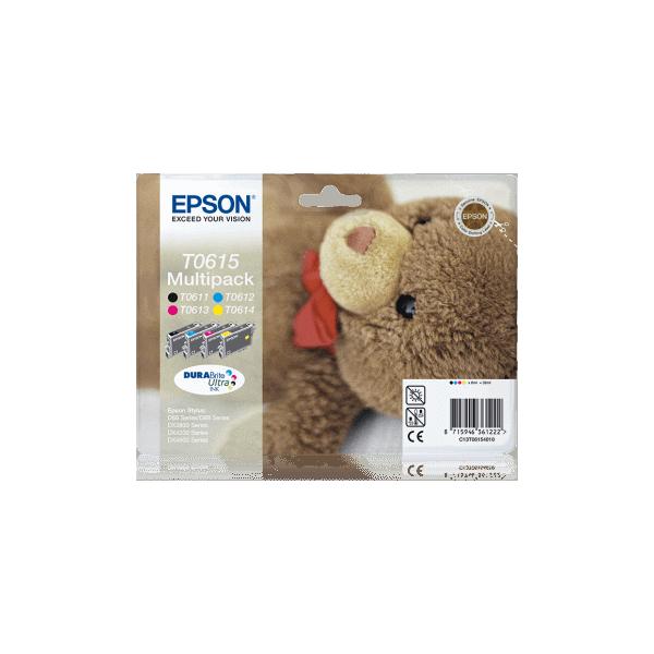 Original Ink Cartridges Epson T0615 Multipack C13T06154010