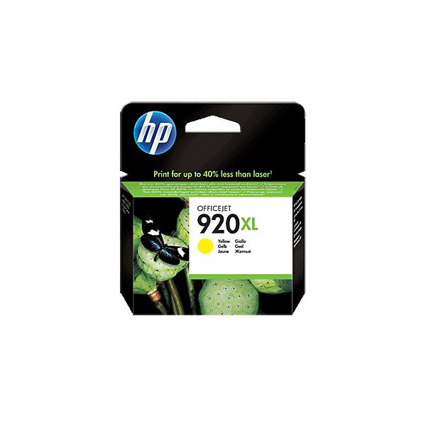 Original HP 920 XL Yellow Ink Cartridge CD974A
