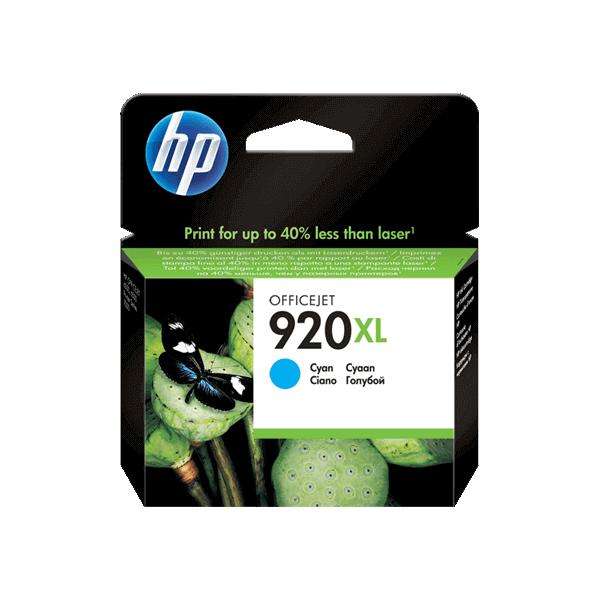 Original HP 920 XL Blue Ink Cartridge CD972A