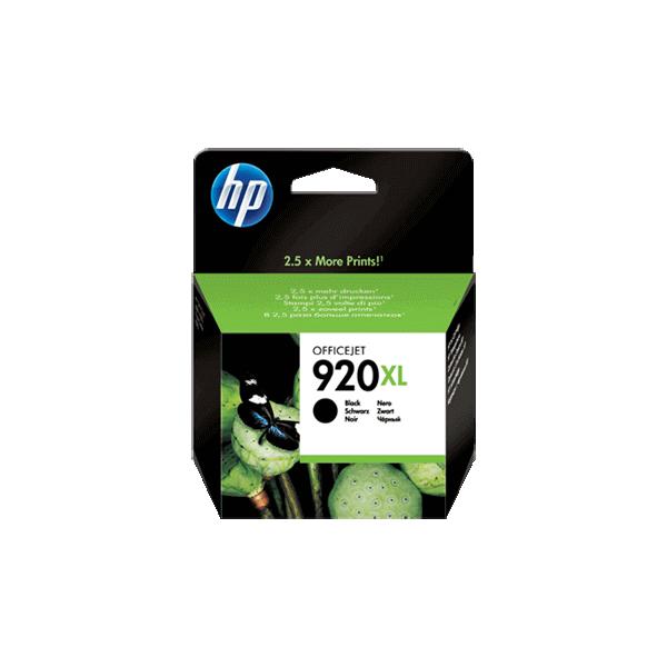 Original HP 920 XL Black Ink Cartridge CD975A