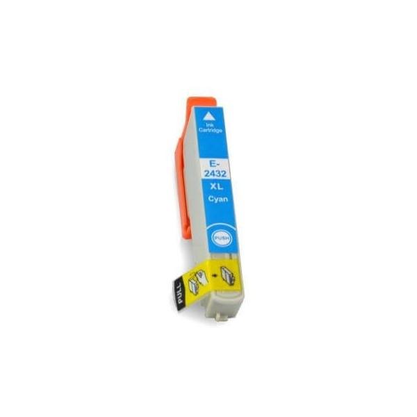 Ink Cartridge Epson T2432 Blue C13T24324010 Compatible