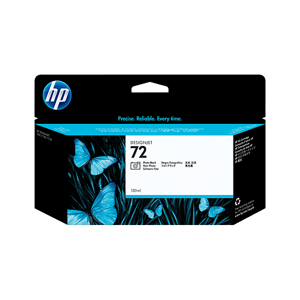 HP 72 Black Photo Ink Cartridge C9370A Original
