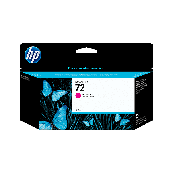 HP 72 Magenta C9372A Ink Cartridge Original