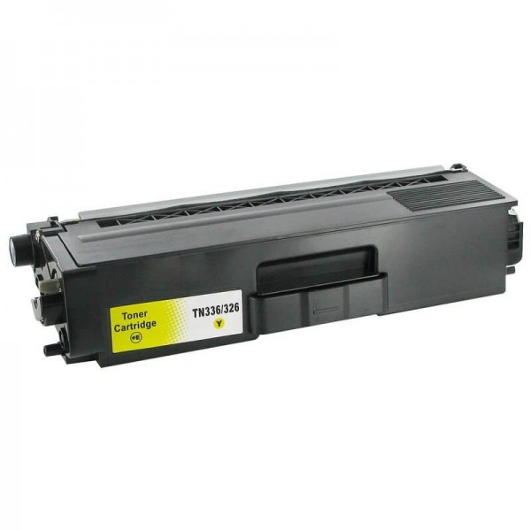 Brother TN326 Yellow Compatible Toner