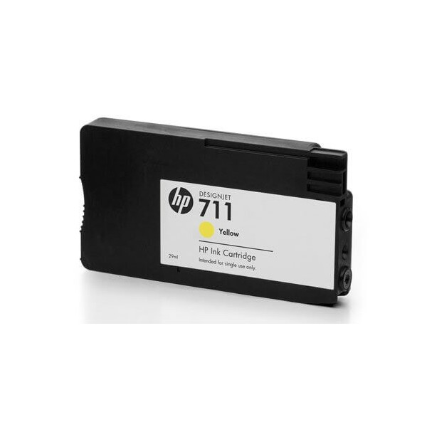 HP 711 Yellow CZ132A Compatible Ink Cartridge