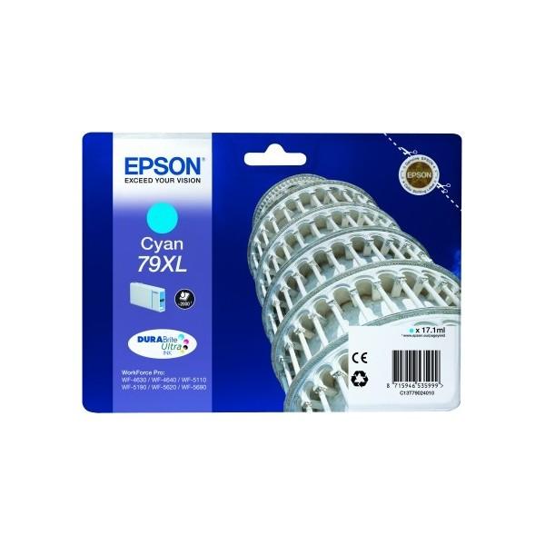 Original Ink Cartridge Epson T79XL Blue C13T79024010