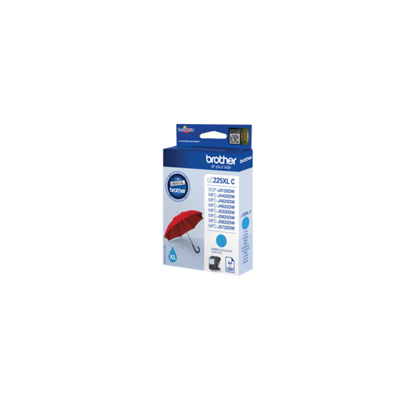 Brother LC-225 XL Original Blue Ink Cartridge
